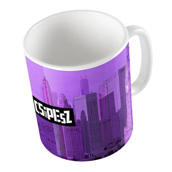CSiPESZ Purple City bögre