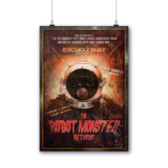 ROBOT MONSTER RETURNS poszter